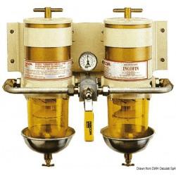Filtres doubles Racor