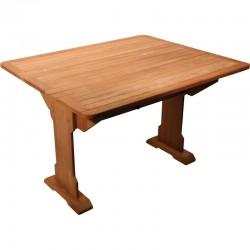 Table pliante teck massif