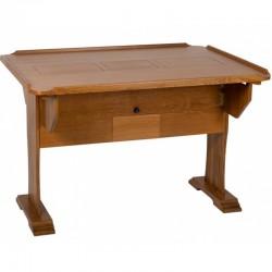 "Table traditionnelle teck ""Captain"""