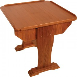 """Table traditionnelle teck """"Commander"""""""