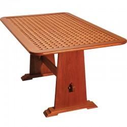 "Table en teck massif ""Amiral"""