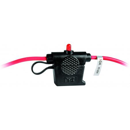 Porte-fusible avec LED d'alarme