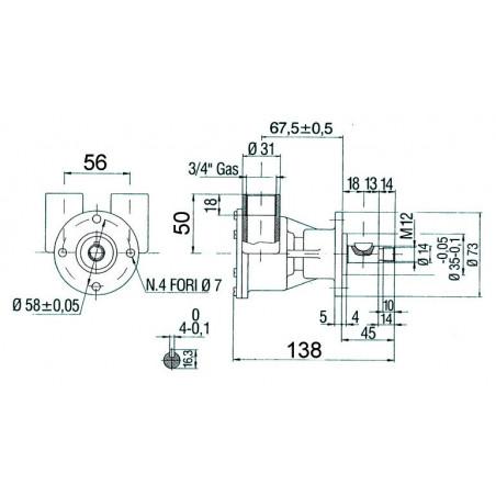 Pompe NAUCO modèle ST144