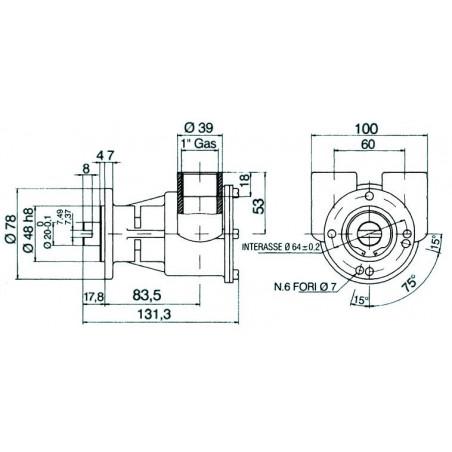 Pompe NAUCO modèle ST 146