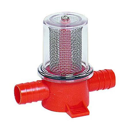 Filtre en ligne pour pompe et douche