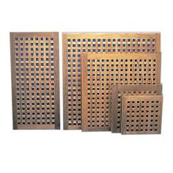 Caillebotis carrés / rectangulaires