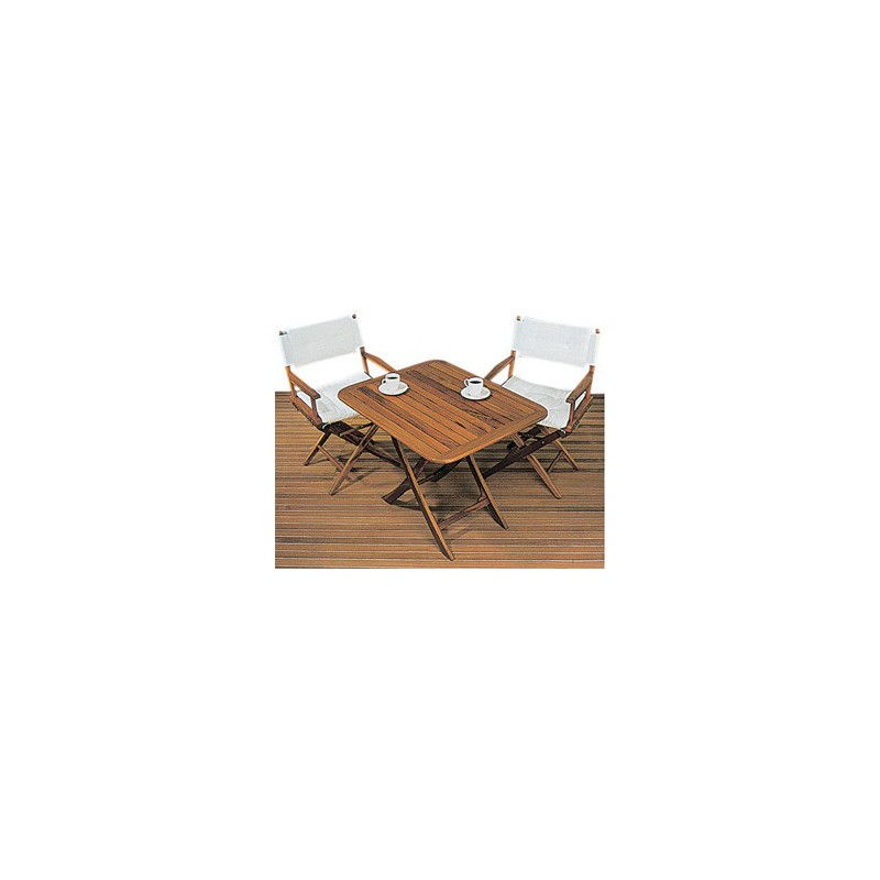 Table pliante teck isonautique - Table pliante teck ...