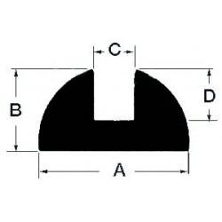 Profilé en teck
