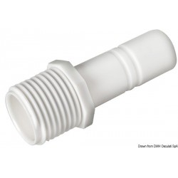 Raccord cylindrique mâle