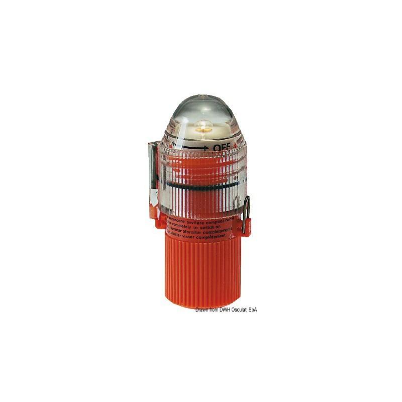 Lampe-flash pour gilet sauvetage