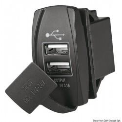 Prise double USB
