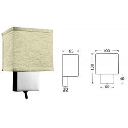Applique pour tête de lit en laiton