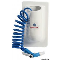 Conteneur vertical pour tuyau