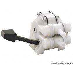 Pompe à pied pour lavabo