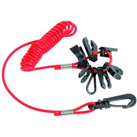 Kit clés de sûreté pour hors-bord