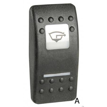 Façade d'interrupteur modèle A/B
