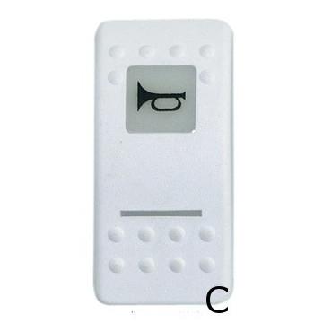 Bascules d'interrupteurs Carlingswitch avec symboles lumineux
