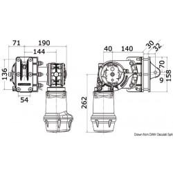 Treuils de poupe Lewmar S900 - S2000