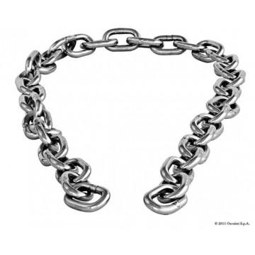 Tronçons de chaîne inox