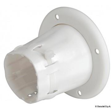 Passe-câble ouvert PVC