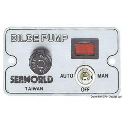 Panneau de commande pompe