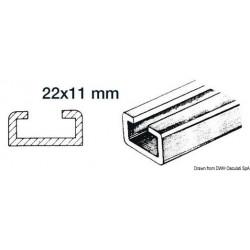 Rail en aluminium