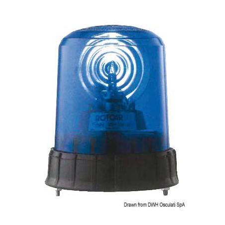 Feu bleu gyrophare / flash stroboscopique