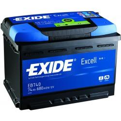 Batterie de démarrage Exide Excell