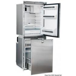 Réfrigérateur frontal inox