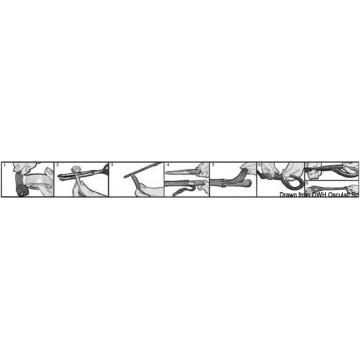 Tresse plate 32 torons