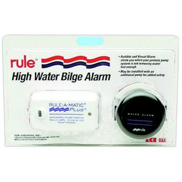 Alarme Rule pour pompe de cale