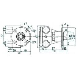 Pompe NAUCO modèle 140/141