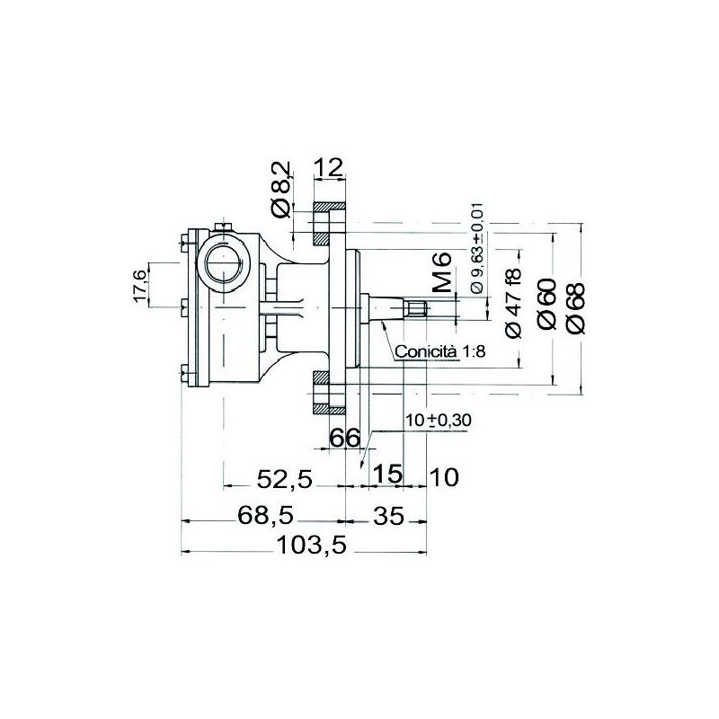 Pompe NAUCO modèle ST 139