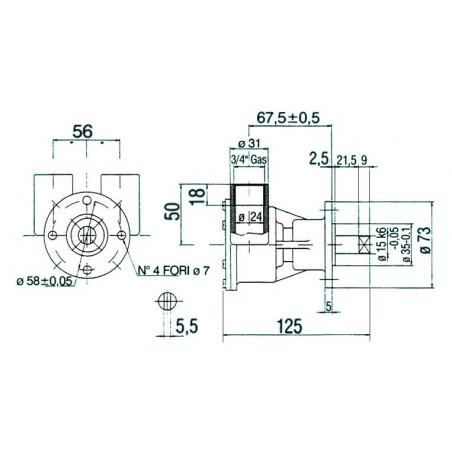 Pompe NAUCO modèle ST 143