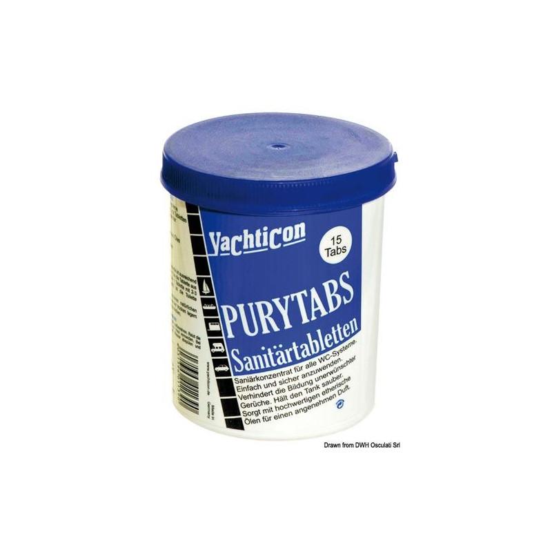 Pastilles WC Purytabs