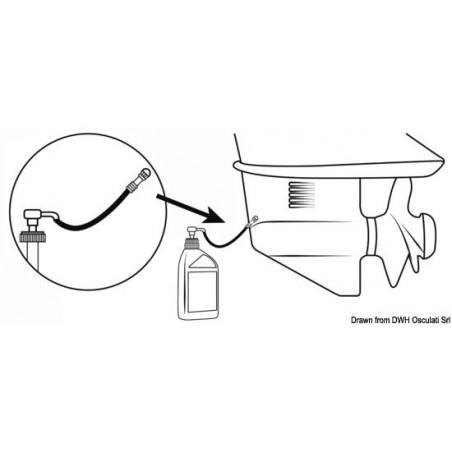 Pompe à huile de pied