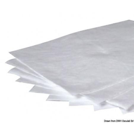 Serviettes absorbantes hydrophobes