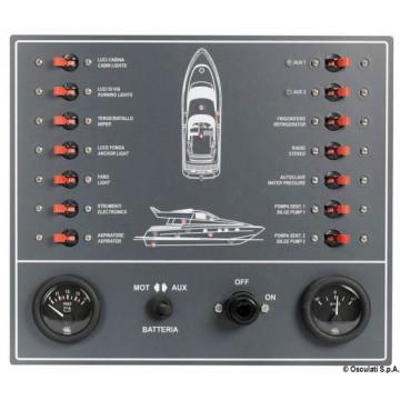 Tableau électrique fusibles moteur