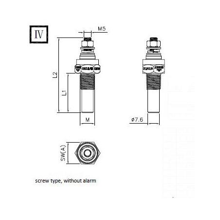Sondes température eau/huile