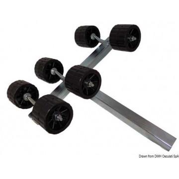 Balancier latéral basculant 4/6/8 roues