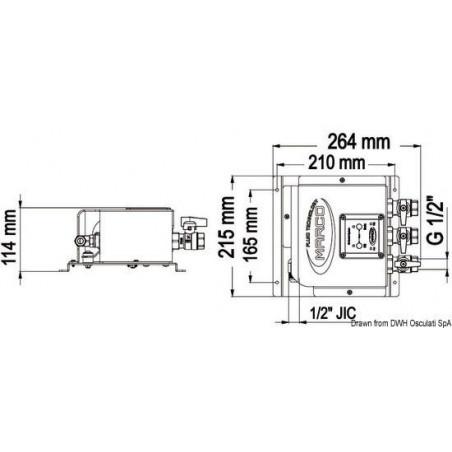 Electropompe OCS3/E vidange d'huile