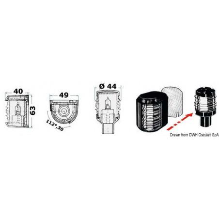 Ampoule de rechange pour les feux de navigation Utiliy Compact