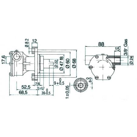 Pompe NAUCO modèle ST 136