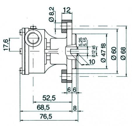 Pompe NAUCO modèle ST 138