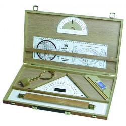 Kit cartographie + valisette bois