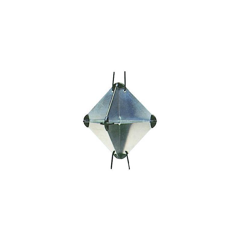 Réflecteur de radar pliable