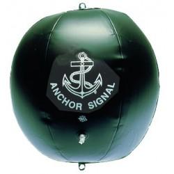 Ballon noir gonflable