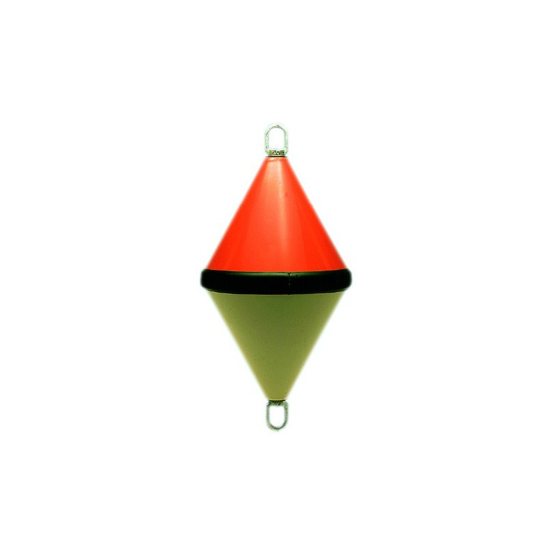 Bouée biconique bicolore