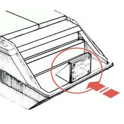 Support moteur fixation plateforme