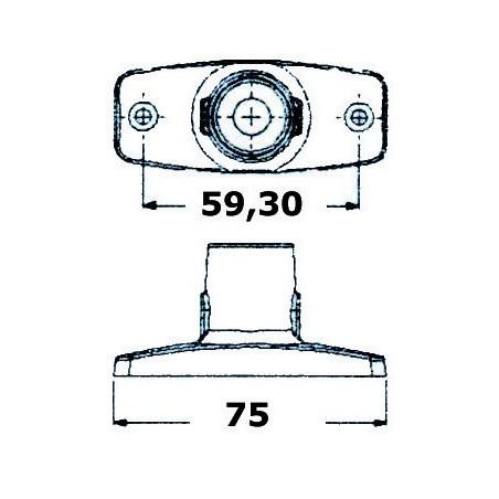 Feu de mouillage 360° Evoled®
